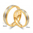 Ocelové svatební prsteny JCFCR013
