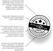 Razítko kvality a ruční výroby šperků Swarovski elemnts