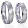 Ocelové snubní prsteny SPPL026