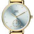 Zlaté hodinky dámské Q+Q QA97J001Y