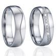 Ocelové snubní prsteny SPPL024