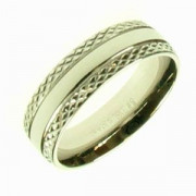 Ocelový prsten R1338