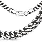 Ocelový řetízek Spikes 3969-5