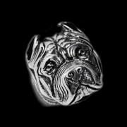 Prsten z chirurgické oceli Pitbull WJHZ337