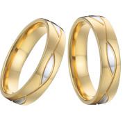 Svatební prstýnky z chirurgické oceli SPPL006-BK