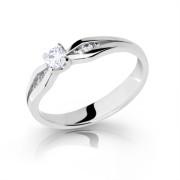 Zásnubní prstýnek stříbro 2122