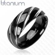 Titanový prsten Spikes 3558