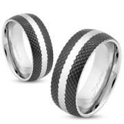 Snubní prsteny z chirurgické oceli 1001