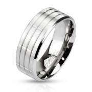 Ocelový prsten Spikes 2382
