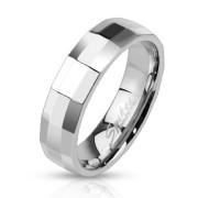 Ocelový prsten Spikes 2505