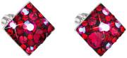 Stříbrné pecky s kamínky Swarovski 31169.3 Cherry