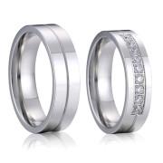 Ocelové snubní prsteny SPPL018