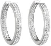 Náušnice kruhy s kamínky Swarovski 31122.1