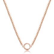 Pozlacený náhrdelník chirurgická ocel Brosway Catena BCT56