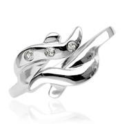 Stříbrný prsten 007