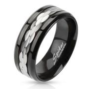 Ocelový prsten Spikes 2380