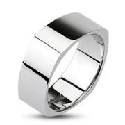 Ocelové snubní prsteny Spikes 0001