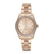 Zlaté náramkové hodinky Brosway Déco WDC16