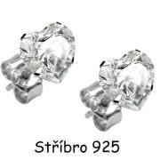 Náušnice SEESHTC-Stříbro 925/000