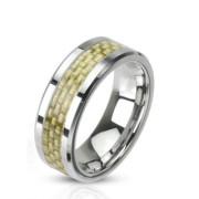 Ocelový prsten Spikes 2316