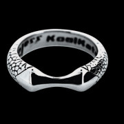 Ocelový prsten KoolKatana 005
