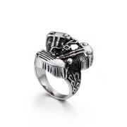 Motorkářský prsten z chirurgické oceli WJHZ191