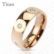 Titanový prsten Spikes 3699