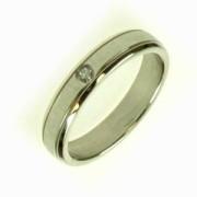 Ocelový prsten R1423S
