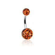 Piercing pupíku 1102-ORANGE