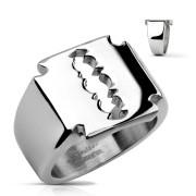 Pečetní prsten žiletka 0026