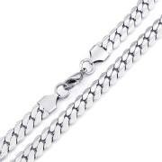 Ocelový řetízek pro muže vzor figaro WJHN33