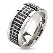 Ocelový prsten Spikes 2808