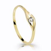 Prsten s kamínkem zlatý Z6108Y