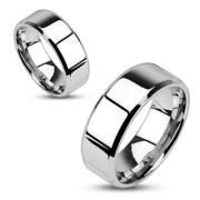 Ocelové snubní prsteny Spikes 0006