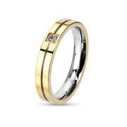 Ocelový prsten Spikes 2122