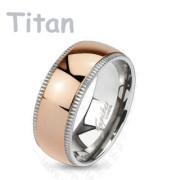 Titanový prsten Spikes 4379