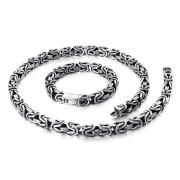 Souprava šperků v byzantském stylu chirurgická ocel WJHN100-10