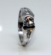 Zásnubní prsten stříbro 2352