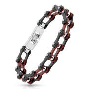 Ocelový náramek řetěz 0636