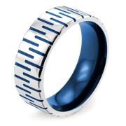 Ocelový prsten MCRSS003