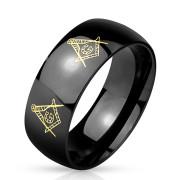 Prsten z chirurgické oceli 4896