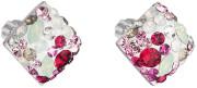 Stříbrné náušnice pecky s kamínky Swarovski 31169.3 Sweet love