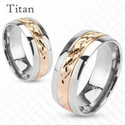 Titanový prsten Spikes 3700