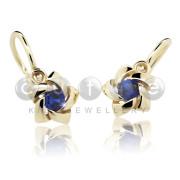Cutie Jewellery dětské náušnice C2201Z Blue Dark Spinel