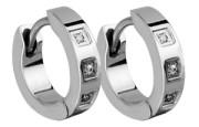 Ocelové náušnice kroužky SEE001-Z6