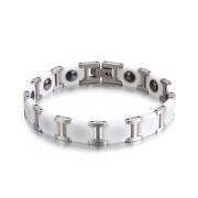 Keramický magnetický náramek WJHB360-White