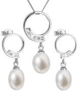 Perlové šperky stříbro 29030.1