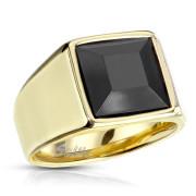 Zlatý pánský prsten 7122G