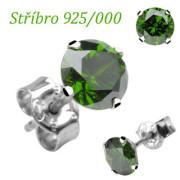 Náušnice SEESRD4G-Stříbro 925/000