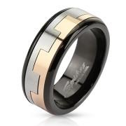 Ocelový prsten Spikes 2815